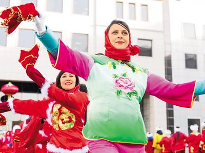正月イベント「歓楽春節」 海外で中国文化の盛典