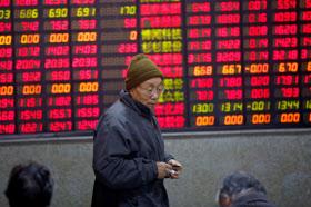 株式市場でも中国IT企業の存在感が高まっている=ロイター
