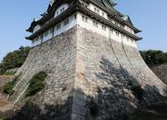 名古屋城天守閣の石垣(名古屋市)