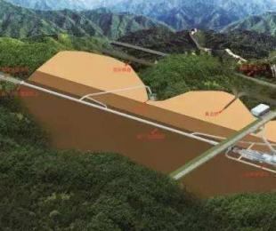 八達嶺長城の地下102メートル、世界最深の高速鉄道駅