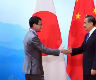 王毅分别会见日本外相、韩国外长